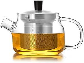 Pogrubione, odporne na wysoką temperaturę szkło wkładka filtr do herbaty dziur herbata 470 ml odporne na ciepło (kolor: zł...