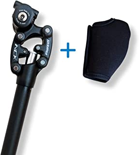 SR Suntour Make Your Ride More Enjoyable SP12 NCX Suspension Seatpost with Protective Cover
