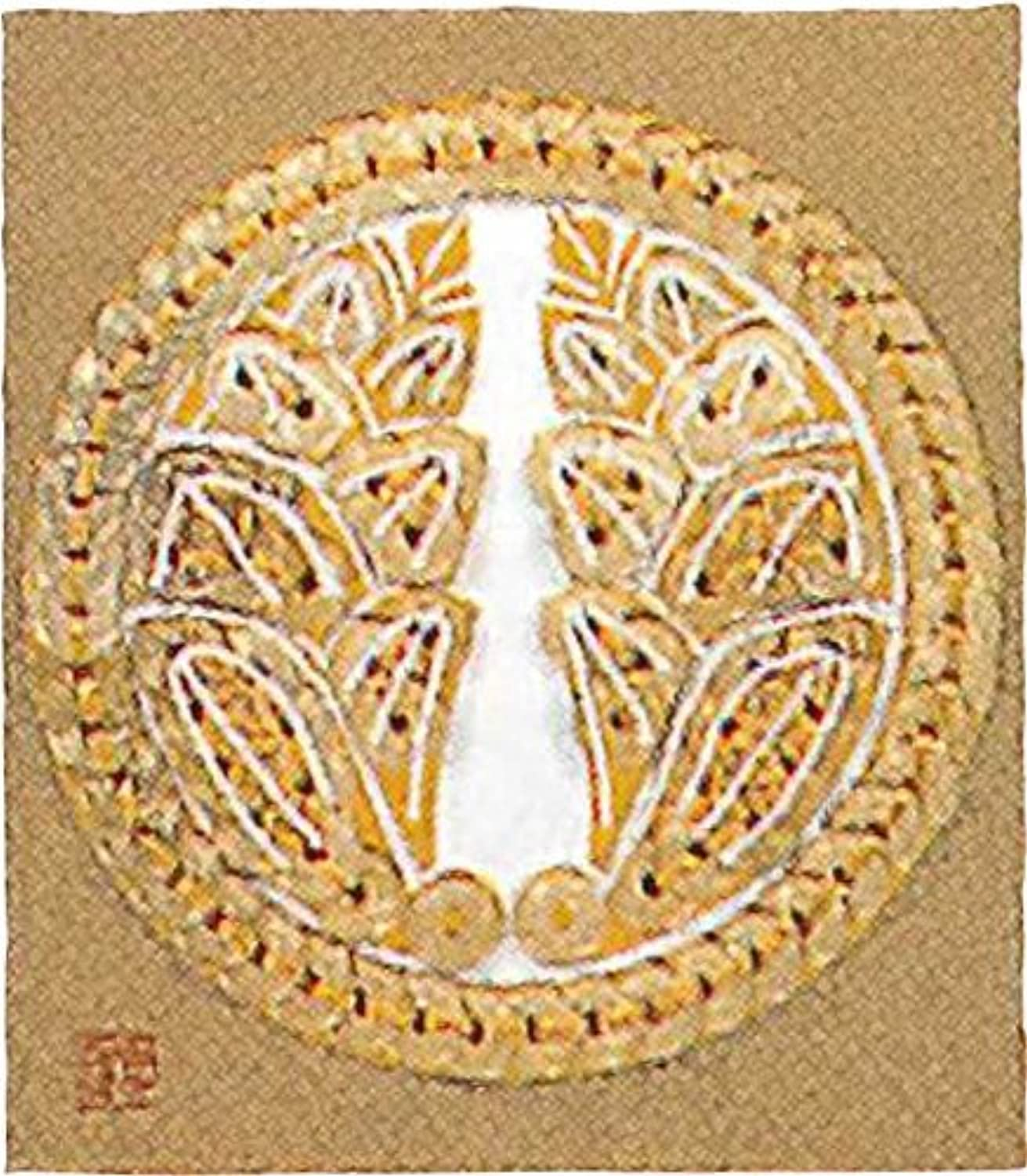 Ginger embrace panami to  coin handicraft  family crest series   No.7 round (japan import)