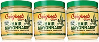 Africa's Best Organics Hair Mayonnaise, 15 Oz - Pack of 3