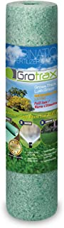 Grotrax Big Roll All-in-One Bermuda Rye Grass Seed Mat Roll, (100 Square Feet)