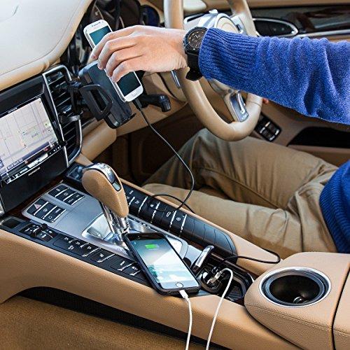 『WY 2ポートUSB車載充電器 [iPhone6s/6s Plus対応] 各社スマホ・iPadの車内充電 カーチャージャー 2.0A出力 小型 WY-CAR001』の6枚目の画像