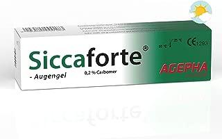 Siccaforte® Carbómero Gel para los Ojos | Gel para de Irritado sangrado seco Ojos | Después de la cirugía ocular | cirugia laser lasik