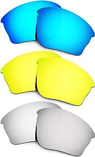 Hkuco Mens Replacement Lenses For Oakley Half Jacket XLJ Sunglasses