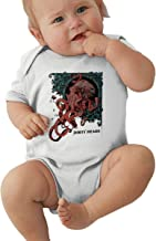 Dirty Heads-Octopus Music/Rock Band Logo Baby Jersey Bodysuit Short Sleeve Baby Clothes Gray