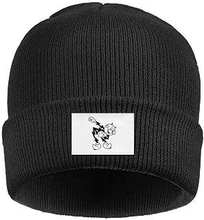 RivasPsm Reddy Kilowatt Logo Acrylic Knit Hat Winter Warm Cuffed Thick Funny Cap Unisex