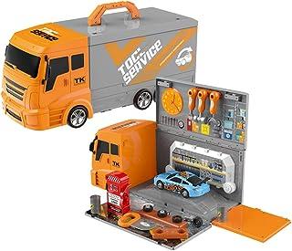 2 IN 1 Kid Luxury Tool Car Toy Truck Children's 36pcs
