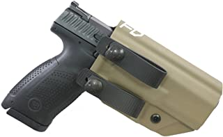 Fierce Defender IWB Kydex Holster CZ P10c The Grey Man Series -Made in USA-