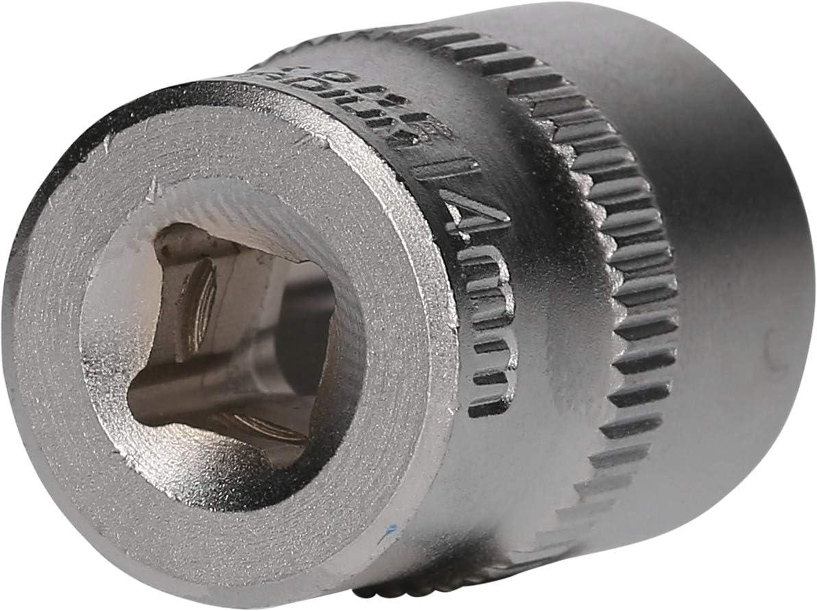 Powered by KS TOOLS 25mm BRILLIANT TOOLS BT020930 1//4 Steckschl/üssel-Einsatz 4mm