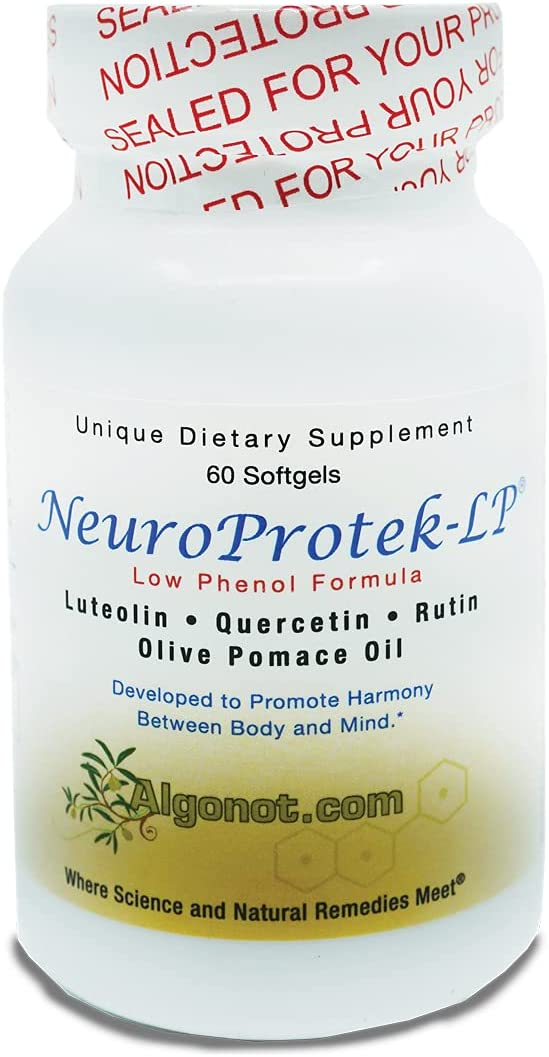 NeuroProtek Low Phenol - 60 Exclusive combina patented Gels Soft Max All items free shipping 87% OFF