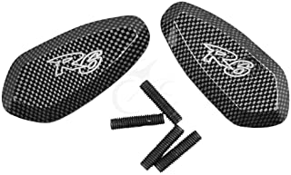 Carbon Fiber Mirrors Base Plates For Yamaha Yzf R6 Yzf-R6 2003-2006 2004 2005 Motorcycle