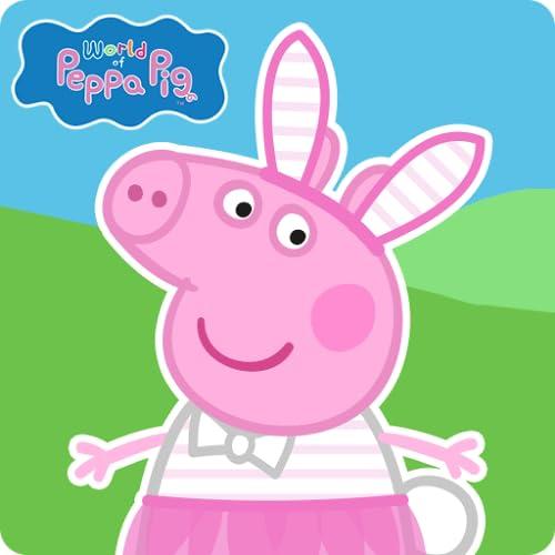 Shirt und Shorty Peppa Wutz ABC mit Glitzereffekt Peppa Pig Zweiteiler Pink//Weiss Schlafanzug
