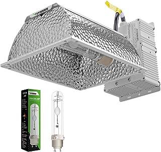 VIVOSUN 315W Ceramic Metal Halide CMH/CDM Grow Light Kit, ETL Listed, High-Reflectivity Vega Aluminum Hood, 120/240V Ballast, Full-Spectrum CMH Hydroponic Grow Light and Suspension System