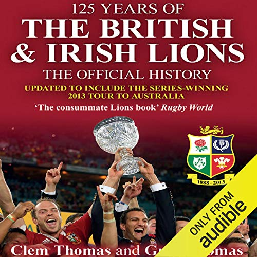 125 Years of the British & Irish Lions cover art