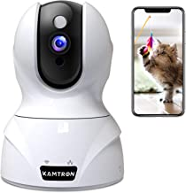 Wireless Security Camera,KAMTRON HD WiFi Security Surveillance IP Camera Home Monitor with Motion Detection Two-Way Audio ...