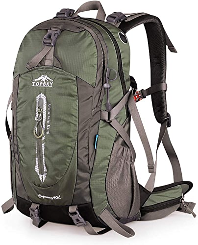 Giow Sac de randonnée Sac d'alpinisme en Plein air d'épaule pour Hommes et Femmes de Grande capacité randonnée Sac à Dos de Voyage Professionnel imperméable à l'eau 40L   50L Sacs à Dos de Randon