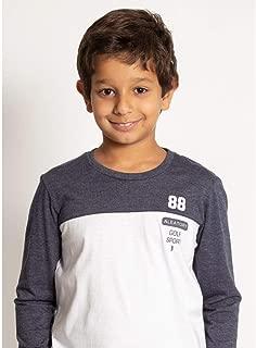 Camiseta Aleatory Estampada Manga Longa Kids Golf Sport