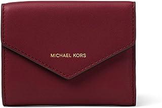 f701c59ab1a MICHAEL Michael Kors Femmes Blakely Small enveloppe en cuir pochette Rouge