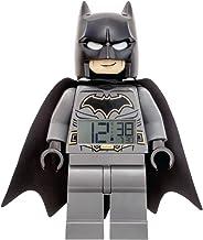 LEGO Alarm Clock, Black, 9 Inches