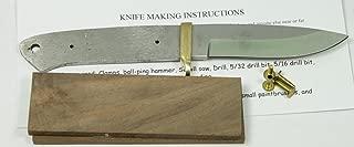 8.5 INCH Drop Point Knife kit/DIY Knife KIT/Payne BROS
