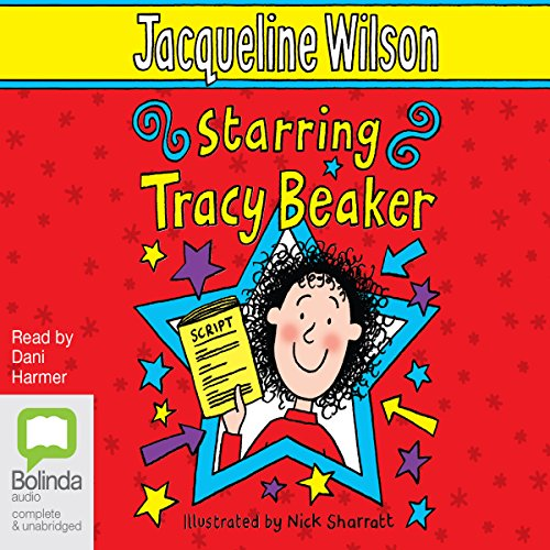 Starring Tracy Beaker audiobook cover art