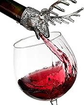 Clearance Sale!DEESEE(TM)🌸🌸Elk Stainless Steel Liquor Wine Bottle Pour Flow Pourer Spout Stopper Stopper
