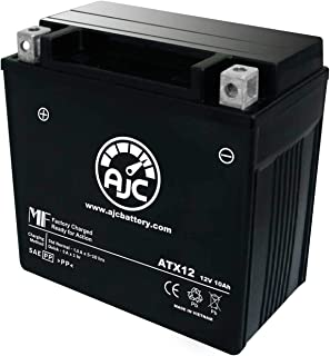 Piaggio - Vespa LX150 4T 150CC Scooter and Moped Replacement Battery (-2016) - This is an AJC Brand Replacement