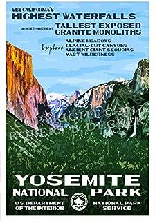 Best yosemite wpa poster Reviews