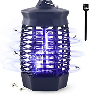 Lámpara Antimosquitos, 4W UV Mata Mosquitos Electrico Interior Atóxico, Luz Mata Moscas Electr�...