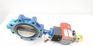 GRINNELL LD-8270-4 Series 8000 Iron FLANGED 6IN Butterfly Valve D594945