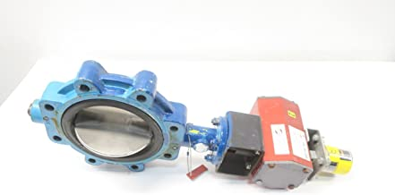 GRINNELL LD-8071-7 Series 8000 4 in Manual Iron FLANGED Butterfly Valve D579172