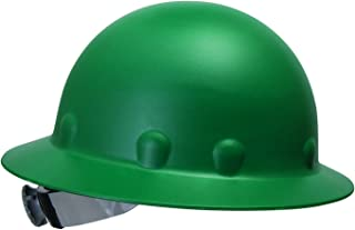 Fibre-Metal by Honeywell P1ARW74A000 Roughneck Full Brim Hard Hat with Strip-Proof and..