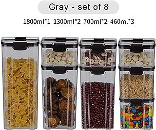 Coffret alimentaire transparent bac à légumes étanche à l'humidité réservoir de stockage étanche cuisine Fruits secs boîte...