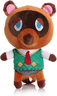 Fximt Cartoon Tom Nook Plush Figures Toy for Boys Girls Cute Anime Animal Crossing Stuffed Soft Doll Puppet Creative Birth...