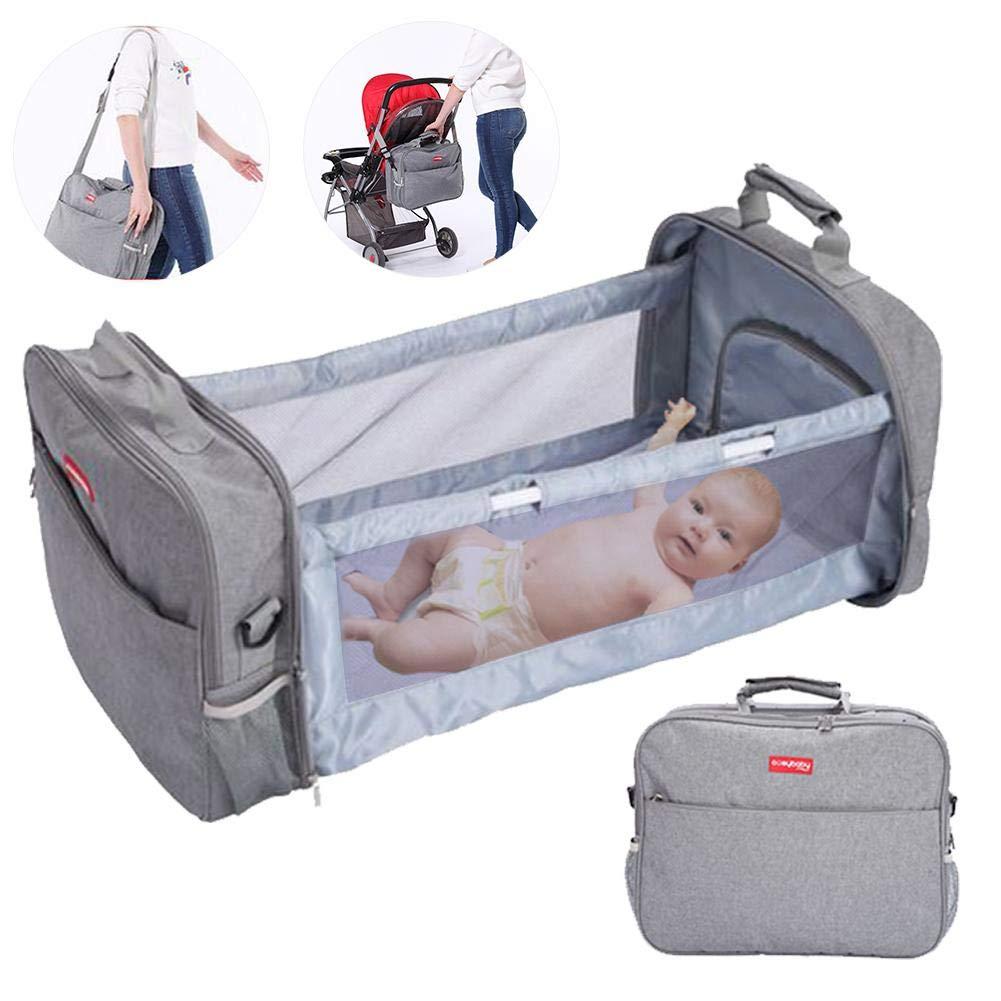 Bulary123 Portable Diaper Tote Baby Travel Bag, Diaper Bag