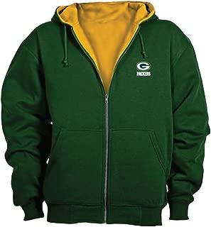 Dunbrooke NFL Craftsman Full Zip Thermal Hoodie, Green Bay Packers - X-Large