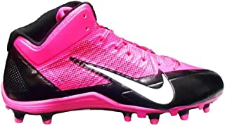 Nike Alpha Pro 3/4 TD Pink Breast Cancer Mens Football Cleats 11.5 US