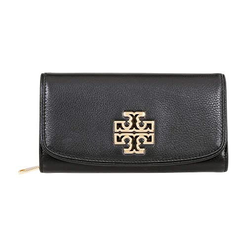 0e25514196e73 Tory Burch Britten Duo Envelope Continental Leather Wallet