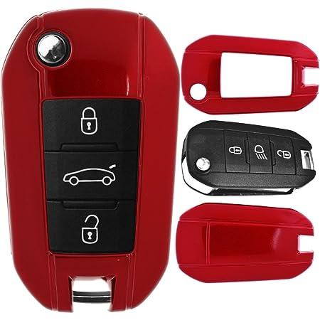 Klapp Schlüssel Cover Hülle Für Peugeot 208 301 308 408 Elektronik