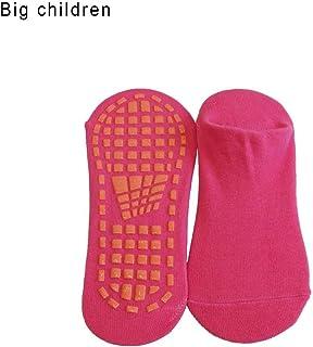 precauti Hombre Mujer Calcetines Antideslizantes de Deporte Calcetines Antideslizantes para niños niñas Calcetines de Deporte para Piso Deslizadizo Trampolines Gimnasia Yoga Artes Marciales Danza