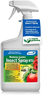 Monterey LG 6133 Garden Insect Spray Ready to Use Insecticide/Pesticide, 32 oz