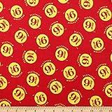 Camelot Fabrics Harry Potter Platform 9 3/4 Flanell Yard