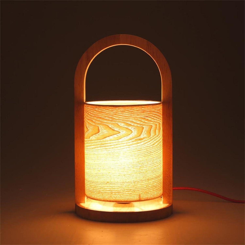 HOME UK-Massivholz modernes unbedeutendes Schlafzimmerlampe kreative Kunst studieren Mode Persönlichkeit Tischlampe B01MXJOZEQ | Erschwinglich