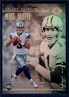 2018 Panini Illusions Football #31 Danny White/Mike White Dallas Cowboys Rookie RC Official NFL Trading Card