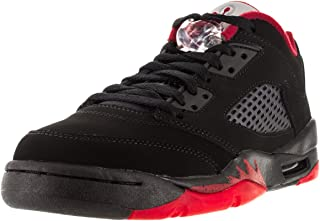 air jordan 5 low black and red