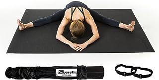 SquareFit - Tapis de Yoga Extra Large | 122x183cm épaisseur 8mm | Grand Tapis de Sol Sport Haut de Gamme et Confortable po...