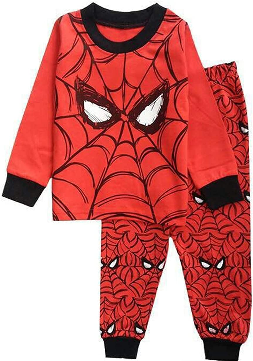 N'aix Spiderman Children's Pajamas Set Slee Cotton Clearance SALE! Limited time! Overseas parallel import regular item PJS 2-7T