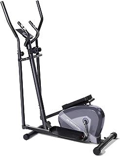 MaxKare دوچرخه ورزش کاردیو دوچرخه بیضوی مربیان بیضوی-قابل حمل عمودی تناسب اندام دستگاه دوچرخه ، مقاومت مغناطیسی 8 سطح ، مانیتور LCD ، مانیتور ضربان قلب ، آرام محور ، کالری سوزانده شده