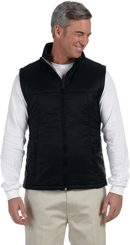 Harriton Men's Essential Polyfill Vest