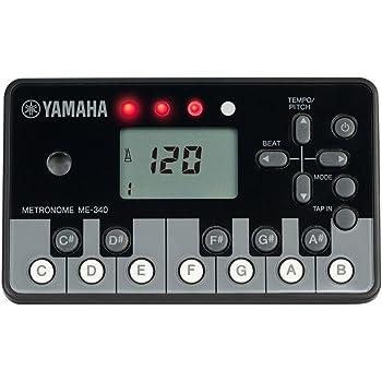 ヤマハ YAMAHA デジタルメトロノーム ピアノブラック ME-340PF
